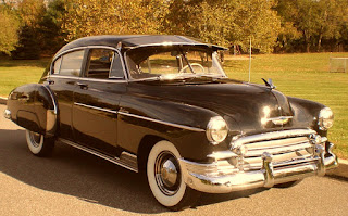 1950 Chevrolet Fleetline Deluxe Front Right
