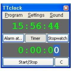 TTclock Portable