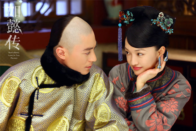 Wallace Huo and Zhou Xun in Legend of Zhen Huan 2