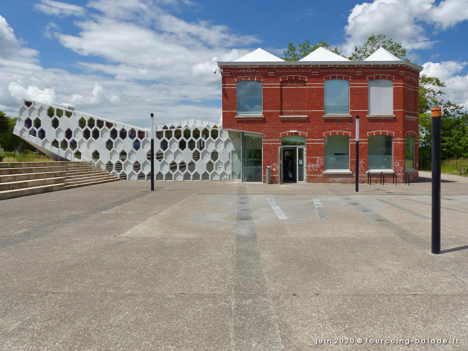 Médiathèque Chedid, Tourcoing Belencontre, 2020