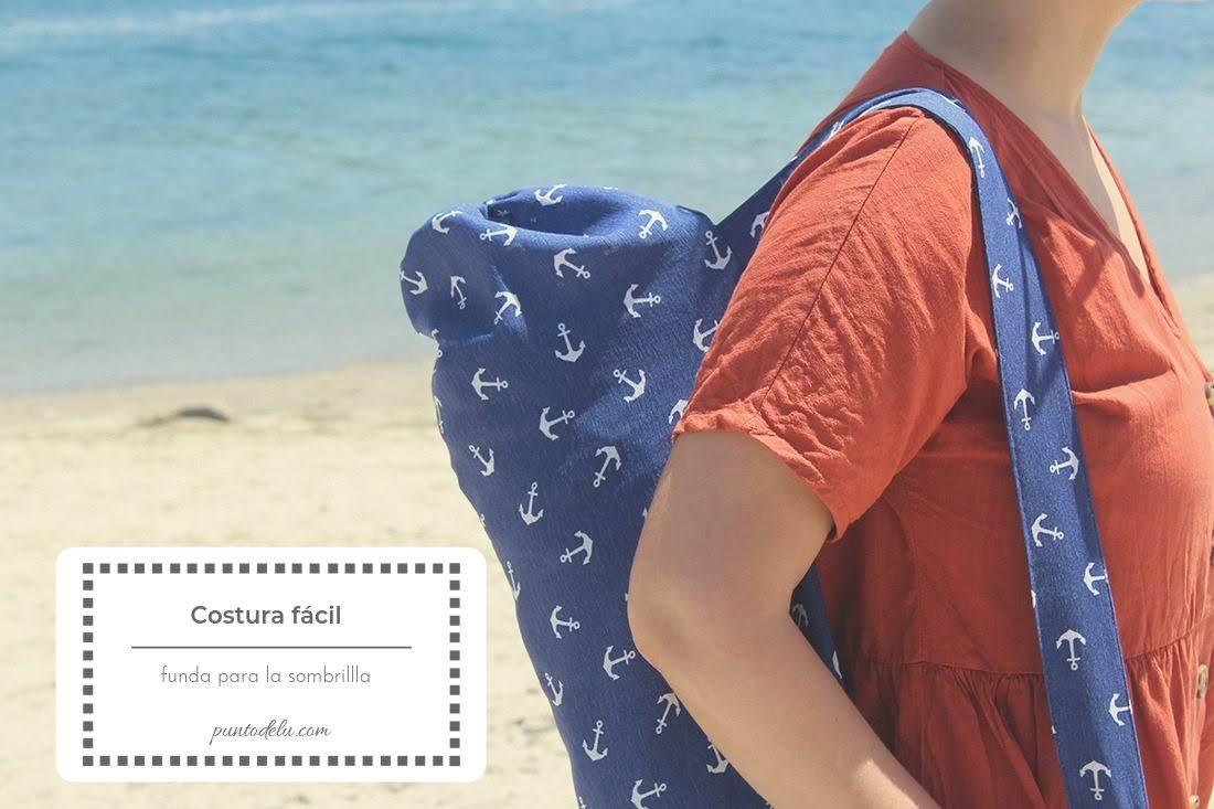 Costura fácil Funda para la sombrilla - Punto de Lu