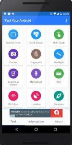 طريقة عمل تطبيق Test Your Android