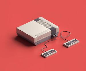 Fondo Minimalista Del Nintendo System Entertainment