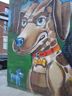 Doug The Dog Toronto Humane Society Mural