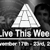 Live This Week: November 17th - 23rd, 2019
