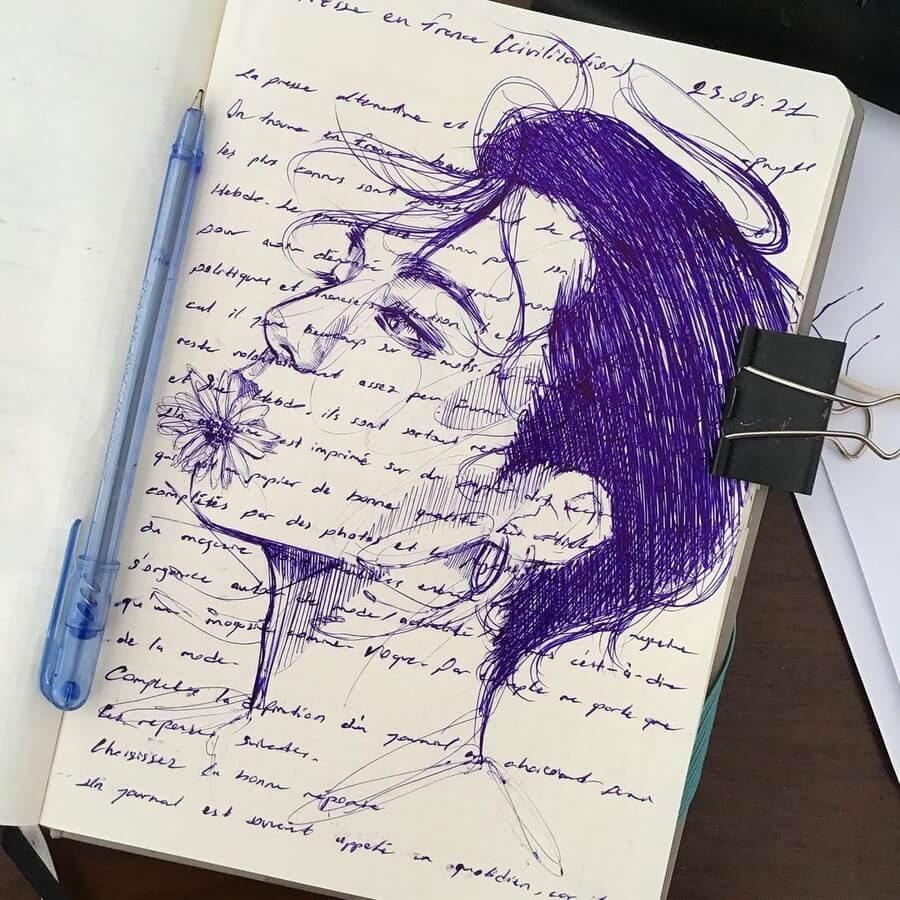 04-Ballpoint-Pen-Portraits-Pınar-Nur-Guven-www-designstack-co