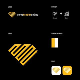 Desain Logo untuk Perusahaan di bidang Batu Permata gemstraderonline