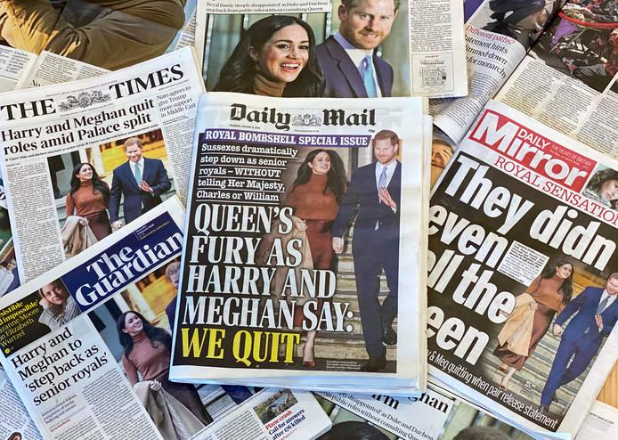 Jornais britânicos - © AFP