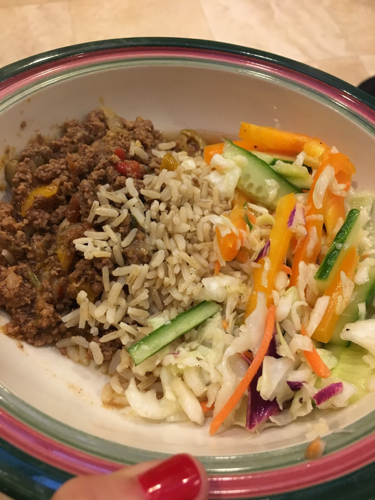 Happy Healthy Mom: Crockpot Picadillo