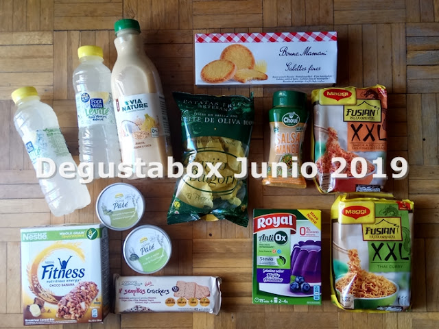 Degustabox Junio 2019 -1