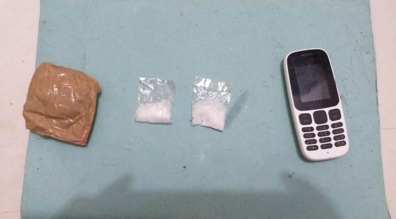 Polsek Linggabayu Amankan Dua Pelaku Tindak Pidana Narkotika Jenis Sabu