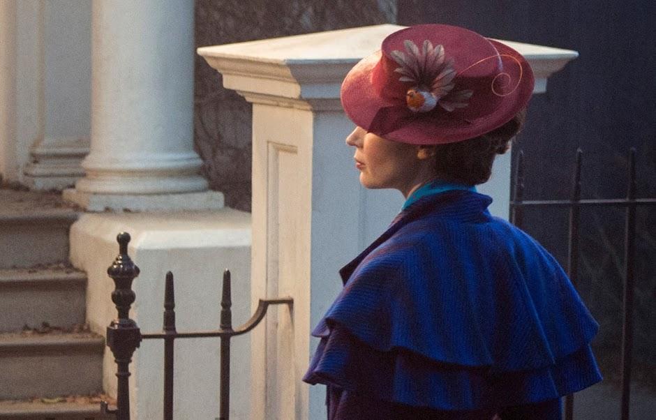 """Revelada novas imagens de """"Mary Poppins Returns"""", com Emily Blunt"""