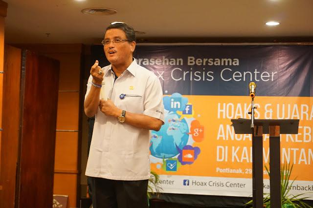 Sarasehan Hoax Crisis Center Kalbar: Bawaslu Akui Tren Peningkatan Hoax Jelang Pemilu 2019