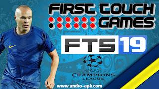 تحميل لعبة FTS 19 مود champions league للأندرويد