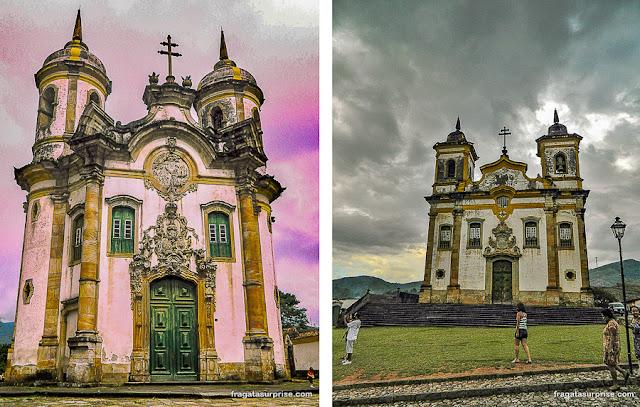 Cidades coloniais mineiras: Ouro Preto e Mariana