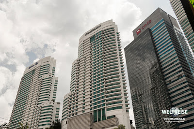 Skyscrapers in Malaysia. www.WELTREISE.tv