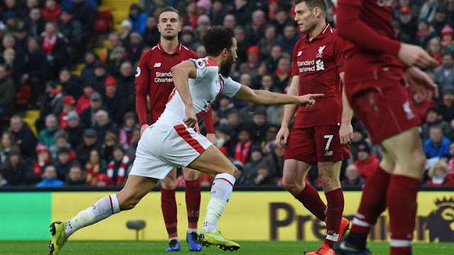 Andros Townsend scores Liverpool Vs Crystal Palace