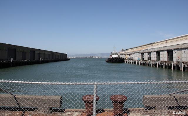 San-Francisco, bassin entre le pier 17 et le pier 19