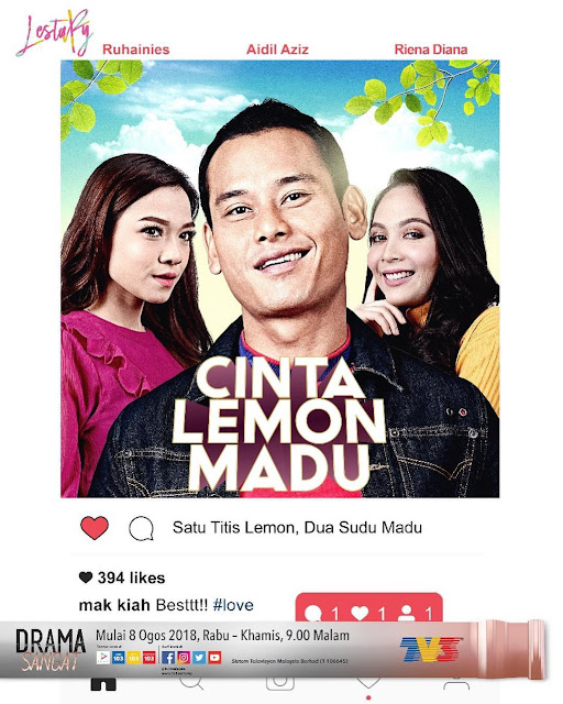 drama cinta lemon madu tv3