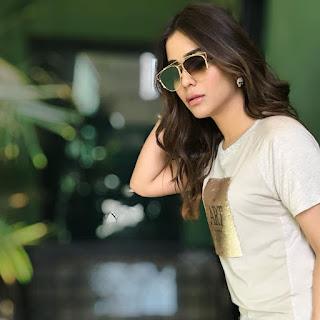 Actress Humaima Malick