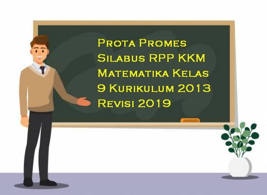 Prota, Promes, Silabus, RPP, KKM Matematika Kelas 9 Kurikulum 2013
