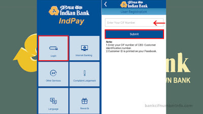 Indian Bank Balance Check by Mobile app