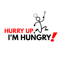Hurry Up, I'm Hungry! logo