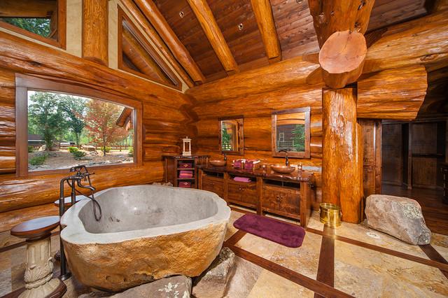15 Traditional & Rustic Warm Interior Wood Decorating ... on Traditional Rustic Decor  id=74412