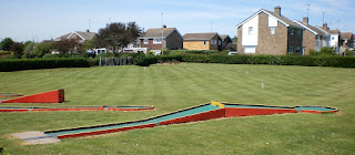 Crazy Golf and Croquet in Dovercourt