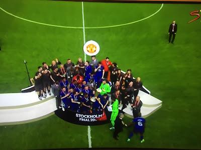 Man U win the UEFA Europa League, qualify for Champions League