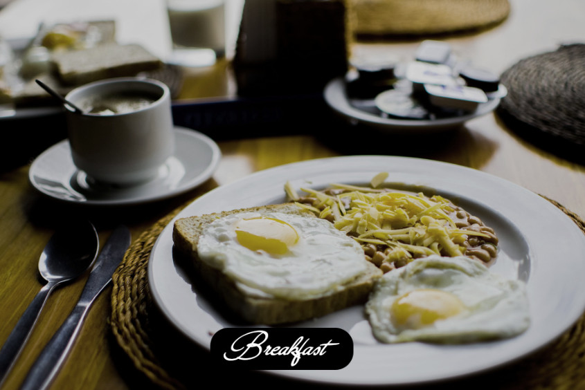 Air Fried Breakfast
