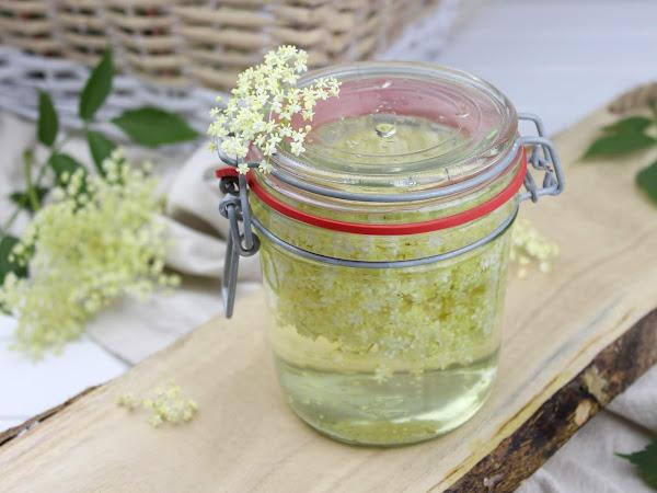 Rezept - Holunderblütenessig ganz einfach selber machen