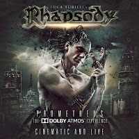 "Η live εκτέλεση του τραγουδιού των Luca Turilli's Rhapsody ""Dark Fate Of Atlantis"" από τον δίσκο ""Prometheus, The Dolby Atmos Experience + Cinematic And Live"""