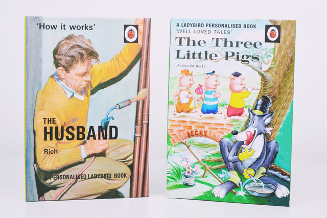 Personalised Ladybird Books
