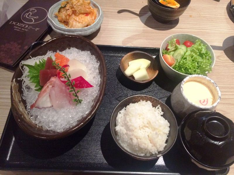 Opens 24 hours a day dozo japanese restaurant de garden for Asian cuisine hours