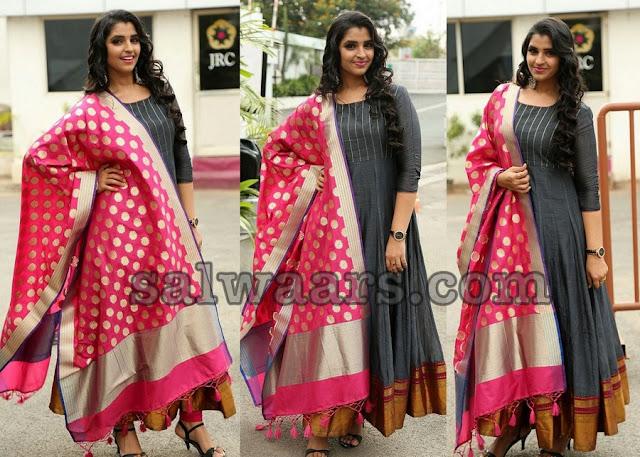 Anchor Shyamala Silk Salwar