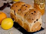 Pan de Molde con Naranja y Chocolate