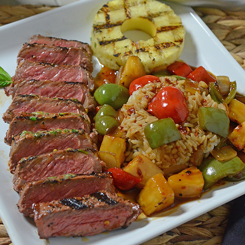 Certified Angus Beef strip steaks recipe best beef