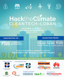 Climate Change Hackathon At The 8th NICP ICT Summit This November