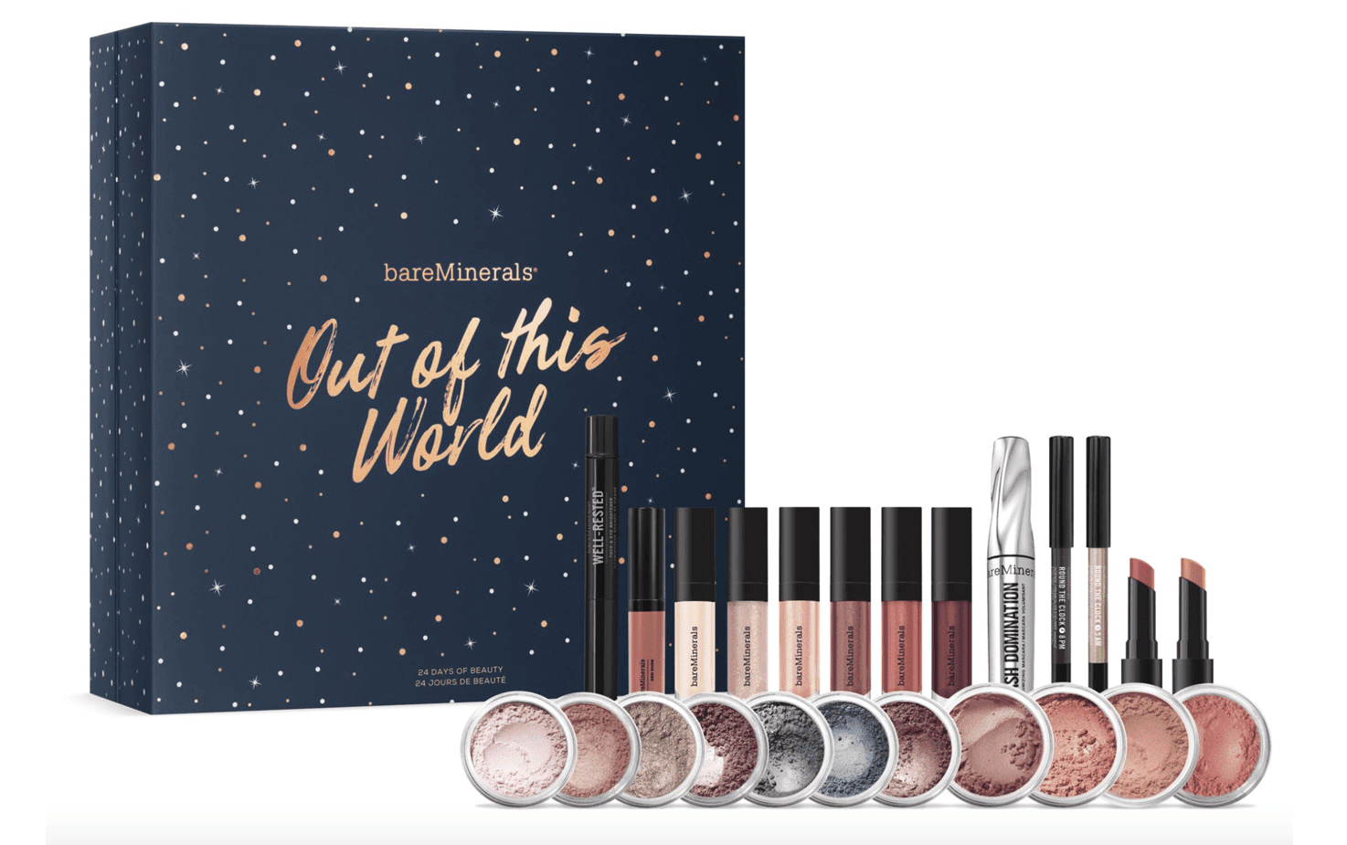 calendrier avent 2018 bareminerals