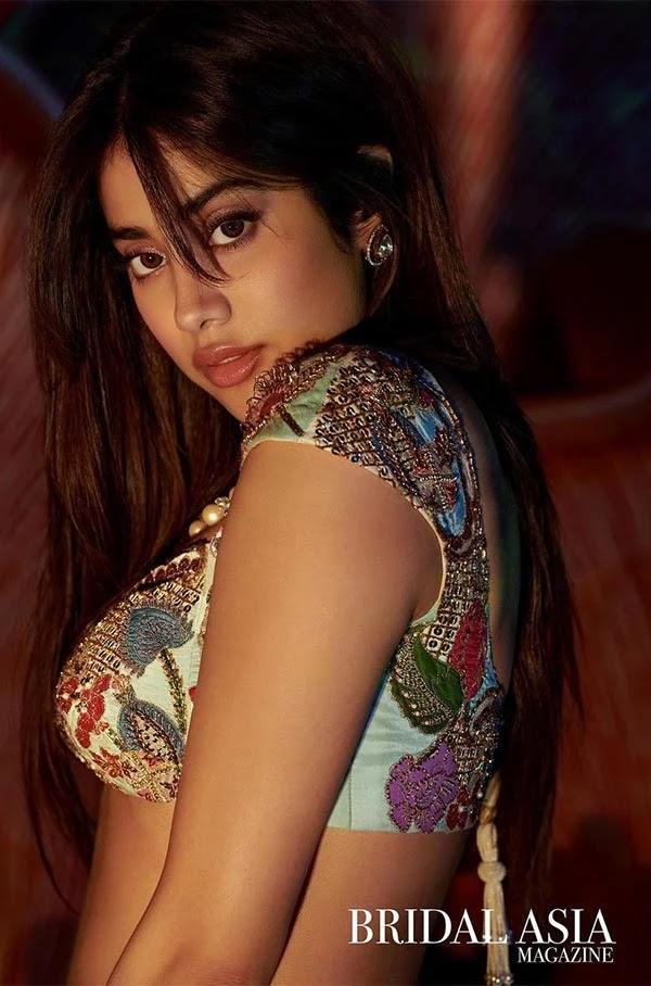 Janhvi Kapoor's hot photoshoot for Bridal Asia Magazine