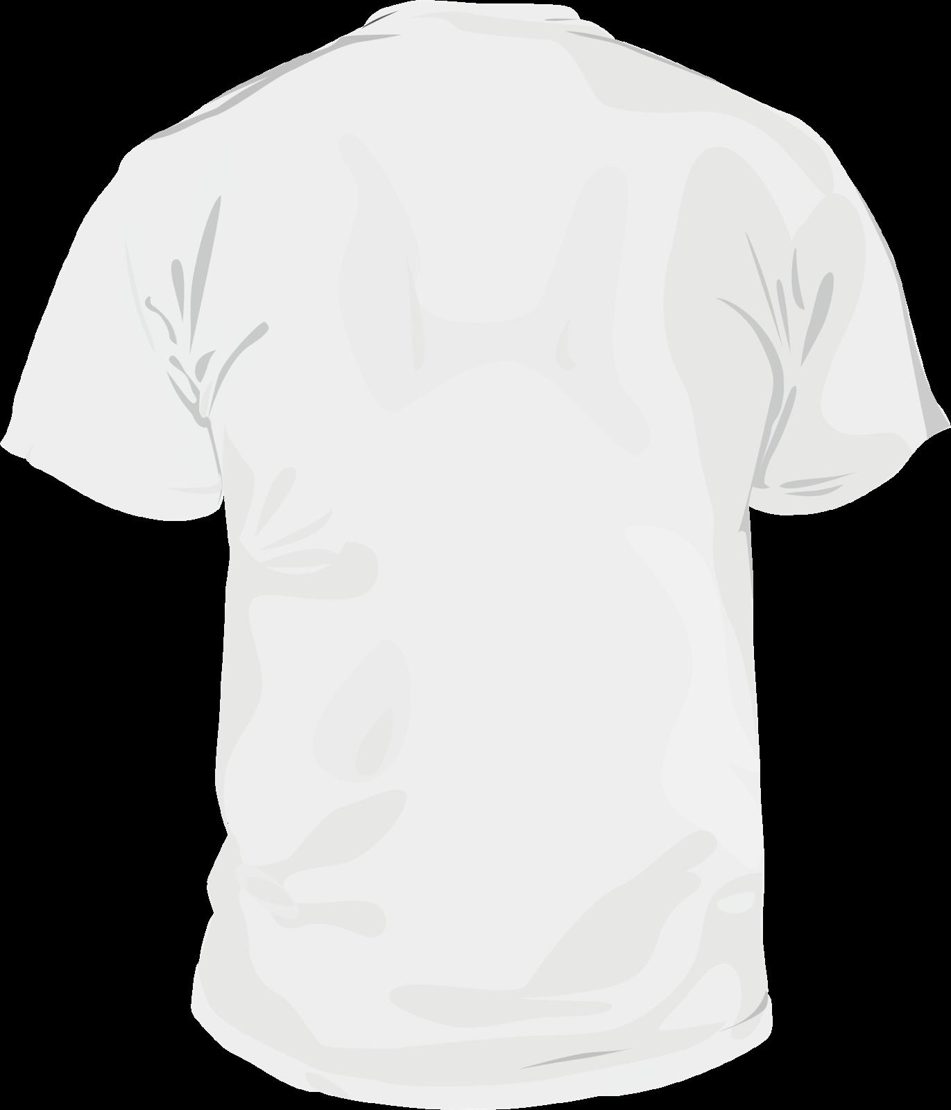 white t shirt template back joy studio design gallery