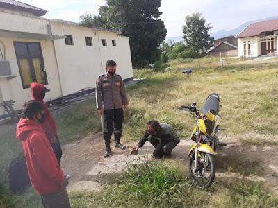 "Pengendara Motor Knalpot Racing Dapat ""Hadiah"" Polisi Alas Sumbawa"