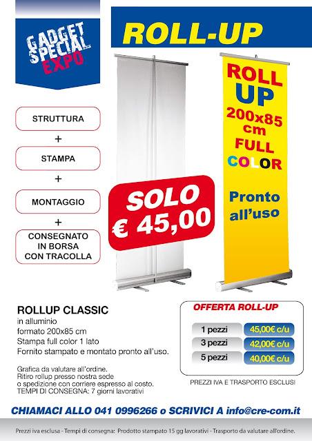 OFFERTA ROLLUP COMPLETO Euro 45,00