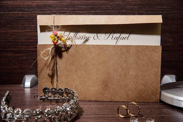 convite casamento DIY