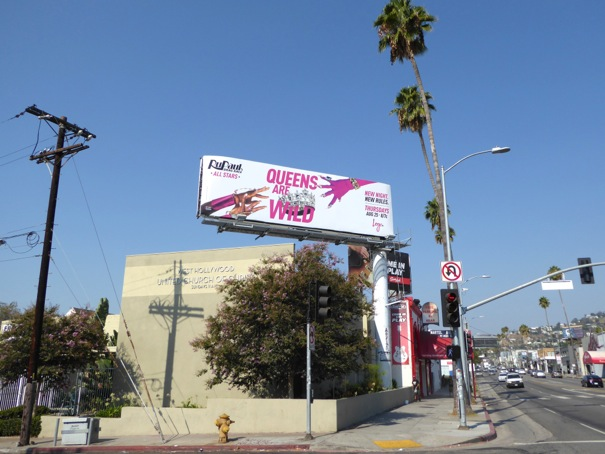 RuPaul's Drag Race All Stars season 2 billboard