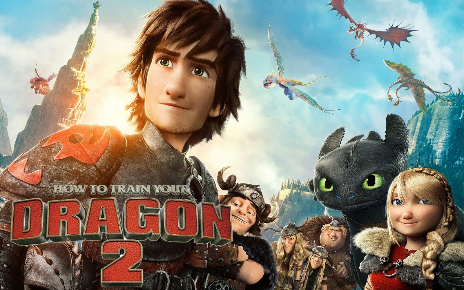 Selamat Datang Di Forum Saya How To Train Your Dragon 2 2014 Review Fun Ride With The Dragons With 3d Review