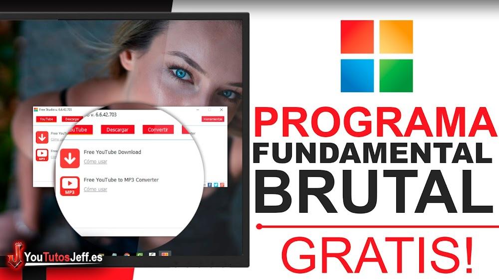 El Programa Fundamental para Pc - Descarga Free Studio