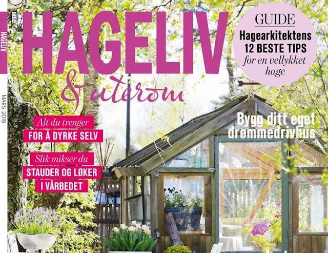 Vinn 1-års abonnement av Hagelivoguterom - Forsiden på hagebladet