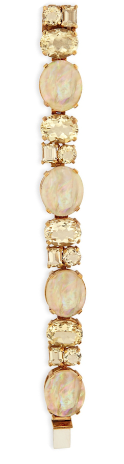 Stephen Dweck Mother-of-Pearl Yellow Quartz Bracelet